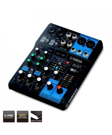 MG06X Console di mixaggio